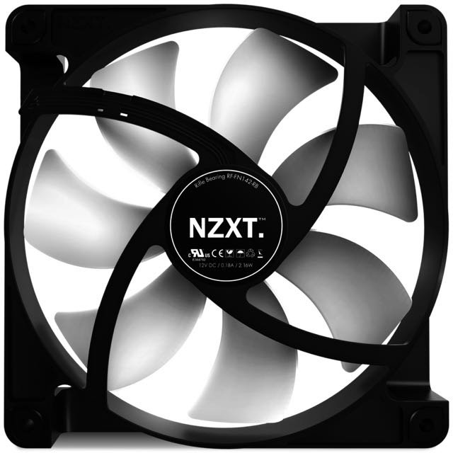 NZXT FN V2 120mm Performance
